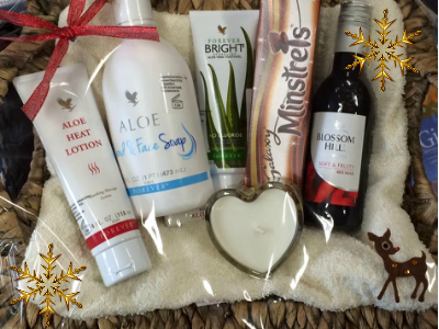 christmas womens gift basket